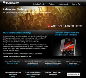 BlackBerry_India_Action_Challenge
