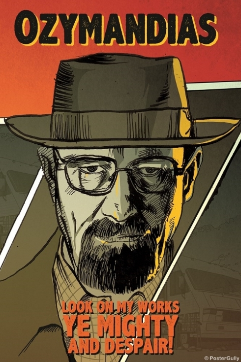 Breaking Bad  Heisenberg Artwork-NGPS2565 (Copy)