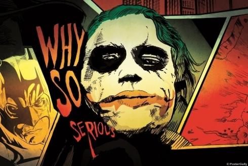 The Joker  Why So Serious Artwork-NGPS2568 (Copy)