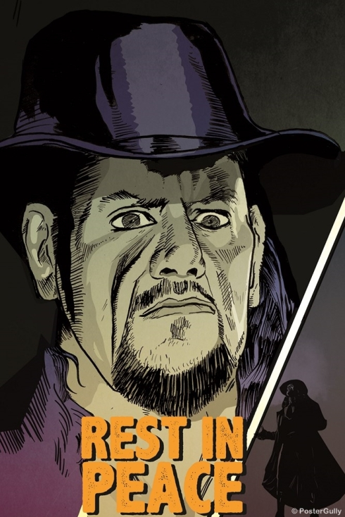 The Undertaker Artwork WWE -NGPS2574 (Copy)