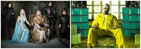 (5) game of thrones and breaking bad