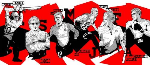 Sports Legends  Red & Black - NGPS3849 (Copy)