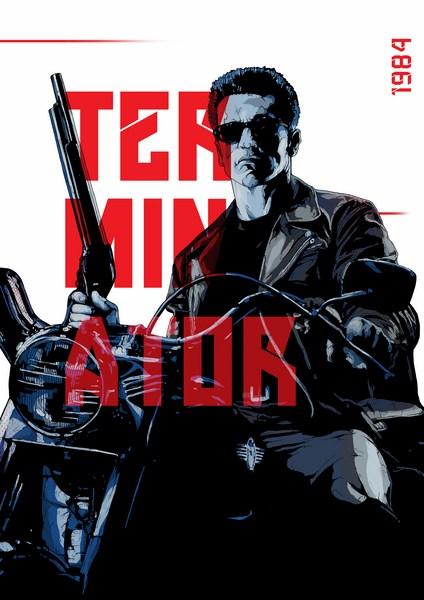 The Terminator Artwork By Manu - NGPS3862 (Copy)